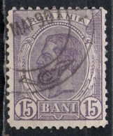 Romania, 1900/03 - 15b King Carol - Nr.139 Usato° - Gebraucht