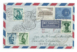 1956 Christkindl Cover/brief To New-Caledonia/Neukaledonien/Nieuw-Caledonië - 1945-60 Cartas