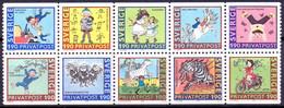 ZWEDEN 1987 HBL Rabbatzegels PF-MNH - Unused Stamps