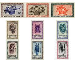 Ref. 198683 * MNH * - IVORY COAST. 1960. MASKS . MASCARAS - Costa De Marfil (1960-...)