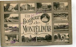 -26 - DROME. - MONTELIMAR -  Un. BONJOUR - Montelimar