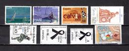 España  2004 .-  Edifil  Nº   4066-4067-4071A-4072-4073-4074-4075 - 2001-10 Used