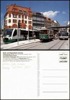 Ansichtskarte Zwickau Stadt- Und Regionalbahn, Tram, Straßenbahn & Bus 2000 - Zwickau