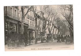 04 DIGNE, Bd GASSENDI, Quincaillerie SIVAN Frères Et Epicerie Marseillaise. ( VOIR 2 SCAN ). - Digne