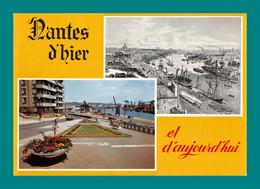 44 Nantes D' Hier Et D' Aujourd'hui ( Port, Bateaux , Navires , Grues ) - Nantes