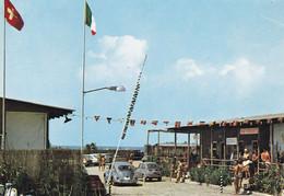 VADA - ROSIGNANO MARITTIMO - LIVORNO - INGRESSO AL CAMPING TRIPESCE - VW MAGGIOLINO - RISTORANTE - 1973 - Livorno