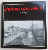 """Album """"Stations Van Weleer"""" P. Pastiels, Cartes Postales, Postkaarten 1978 - Collections"""