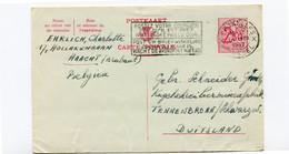 1957 Kaart 2.50 Fr EHRLICH C. Haacht Naar Gebr Schneider Tennenbronn Duitsland - Kugelschreiber Fabrik - Cartes Postales [1951-..]