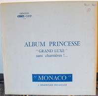 CERES - Jeu PRINCESSE/MONACO PREO/TAXES 1981/1985 (REF. MSP 1) - Pre-printed Pages