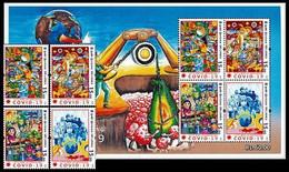 (9999) Sri Lanka  2020 / Medicine / Covid / Corona  Set + Sheet  ** / Mnh  Michel - Sri Lanka (Ceilán) (1948-...)