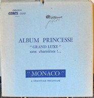 CERES - Jeu PRINCESSE/MONACO Aviation 1981/1984 (REF. AVM10) - Pre-printed Pages