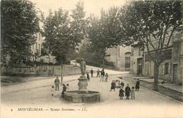 Montélimar * La Rampe Narbonne * La Fontaine * Villageois - Montelimar