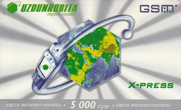 Uzbekistan - Uzdunrobita - The Watch On The World - Ouzbékistan