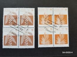 (SA-OC03-4) Timbres SAHARA OCCIDENTAL RASD Correos 1992 FLEURS FLOWERS FLORAS - Sahara Español