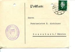 Germania (1930) - Cartolina Postale Per L'interno - Cartas