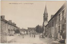 2166  COEMES  -  La Place De L'Eglise - Autres Communes