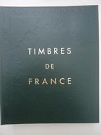 Album Yvert & Tellier - Timbres De France Volume I +  Plus 300 Timbres Oblitérés - Raccoglitori Con Fogli D'album