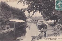 LIZY SUR OURCQ - Canal De L'ourq Port De La Sucrerie - Otros Municipios