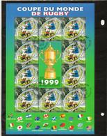 FRANCE   Feuillet De 10 Timbres 3,00 F (0,46 €) + Vignette   1999    Y&T: 26  Oblitéré - Oblitérés