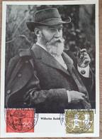 1958  Maximumkarte Wilhelm Busch - Cartas