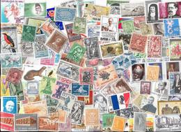 T VRAC - Monde, 2600 Timbres TOUS DIFFERENTS - Lots & Kiloware (mixtures) - Min. 1000 Stamps