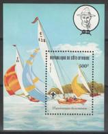 Côte D'Ivoire - Bloc - BF - YT 22 ** MNH - 1982 - Scoutisme - Voile - Sailing - Costa De Marfil (1960-...)