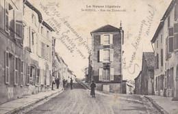 SAINT-MIHIEL - MEUSE  -  (55)  -  CPA  FELDPOST ANIMEE DE 1915 - RUE DES TISSERANDS... - Saint Mihiel