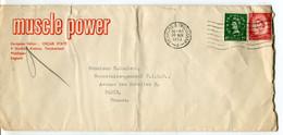 Regno Unito (1953) - Busta Per La Francia - Covers & Documents