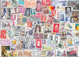 T VRAC - France, 1600 Timbres TOUS DIFFERENTS - Lots & Kiloware (mixtures) - Min. 1000 Stamps