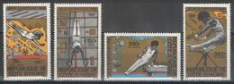 Côte D'Ivoire - YT PA 71-74 ** MNH - 1980 - Jeux Olympiques De Moscou - Gymnastique - Costa De Marfil (1960-...)
