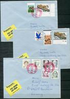 F0961 - USA - 6 Briefe Mit RUNDSTEMPELN, Dabei Werte Zu 1$, 2$, 5$ - 3c. 1961-... Cartas