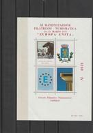 "Francobolli - Erinnofili - Lonigo (VI) '79 - XI Manifestazione Filatelica - Numismatica "" Europa Unita ""- - Erinnofilia"