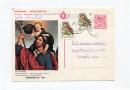 Themabelga Kaart 7 Fr Met Bijfrankering 6 Fr - NIEUWERKERKEN AALST 9430 - Tarjetas Ilustradas