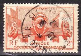 A.O.F. - Timbre N°33 Oblitéré - Oblitérés