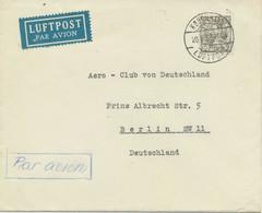 DÄNEMARK 1938 König Christian X 50 Öre EF A. Flugpostbrief KOBENHAVN / LUFTPOST - Aéreo