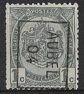 Aubel 1904  Nr. 563Bzz - Roulettes 1900-09