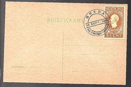 1918 Breda Nationale Postzegel-Tentoonstelling (FB-34) - Covers & Documents