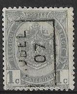 Aubel 1907  Nr. 854Azz - Roulettes 1900-09