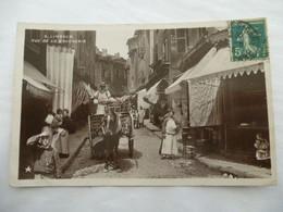 LIMOGES (87) : RUE De La BOUCHERIE - CPSM Photo - Circulé En 1910 - Limoges