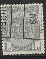 Aubel 1909  Nr. 1295Bzz - Roulettes 1900-09