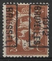 Brussel 1912  Nr. 2053Bzz - Roulettes 1910-19