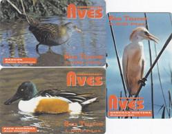 Spain - - - 3 Phonecards Remote - - - Birds - Sin Clasificación