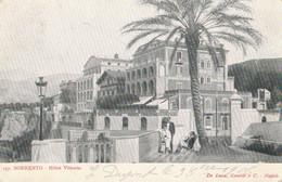 CARTOLINA VIAGGIATA SORRENTO HOTEL VITTORIA  (ZY1028 - Altre Città