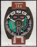 Tonga 1971 MH Sc #C97 14s Prehistoric Trilithon, King's Watch - Tonga (1970-...)