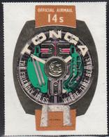 Tonga 1971 MH Sc #CO47 14s Prehistoric Trilithon, King's Watch - Tonga (1970-...)