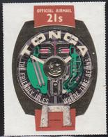 Tonga 1971 MH Sc #CO48 21s Prehistoric Trilithon, King's Watch - Tonga (1970-...)