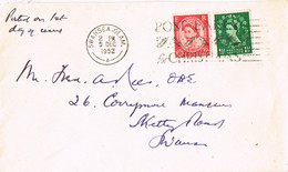 39497. Carta SWANSEA (Glam) 1952. Post Early Christmas - Covers & Documents