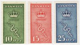 2497) Denmark  MNH** 1929 Scott B3-B5 Semi Postal - Nuevos