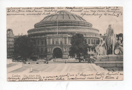London  ,   The  Albert  Hall         -  Posted  1903 - Autres