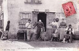 15 - Cantal - Le Cantal Pittoresque - Les Sabotiers- 1904 - Non Classés